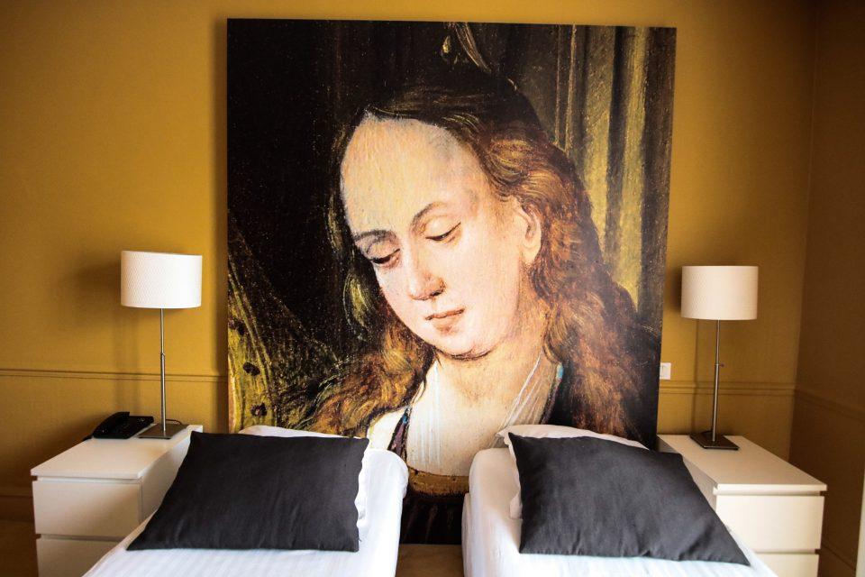 Hotel Cecyl · Hotel Reims proche Gare · Chambre avec lit double