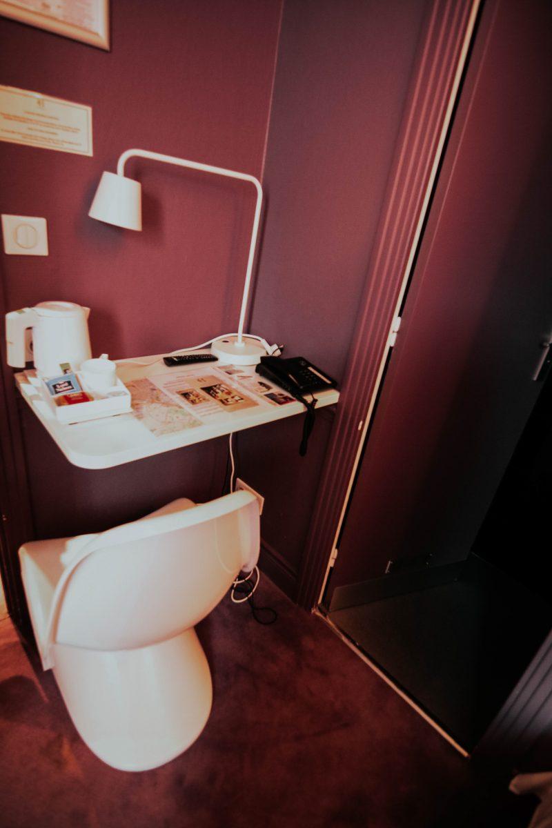 Hotel Cecyl · Hotel Reims proche Gare · Chambre simple