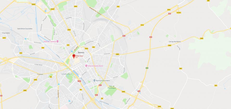 → Hôtel, Reims city centre, | Hôtel Cecyl | Official website