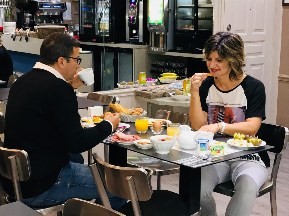 Breakfast à l'hôtel de charme Reims · Hôtel Cecyl